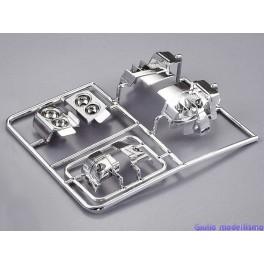 Killer Body set parabole per carrozzeria 1/10 lancia Delta cod. 48293