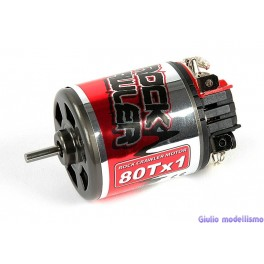 Robitronic Motore a spazzole 80T Rock Crawler cod. R03101