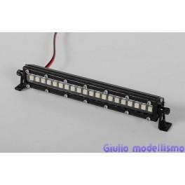 RC4WD Barra fari LED in metallo 100mm cod. Z-E0056