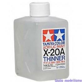 Tamiya diluente per acrilici 250 ml  cod. 81040