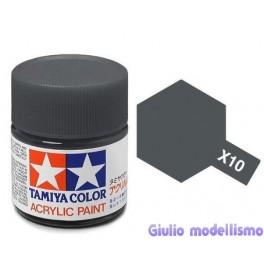 Tamiya X-10 colore canna di fucile lucido acrilico 10 ml  81510