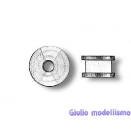 Amati carrucole in ottone 2,5mm cod. B4850/02
