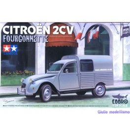 "Tamiya Citroen 2CV "" Fourgonette "" 1/24  93034"