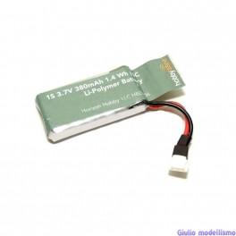 Hobbyzone batteria 380mah 1S 3.7v per Zugo cod. HBZ8706