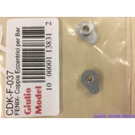 CDK coppia eccentrici per barra di torsione Fenix cod. CDK-F-037