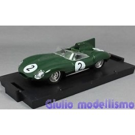 Brumm Jaguar D Type Le Mans 1/43 cod. R150B