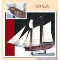 Amati Adventure Pirate Ship 1:60 B1446