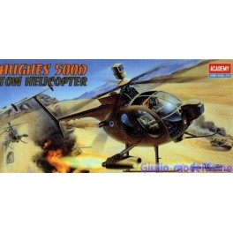 Academy 1/48 Huges 500D Tow Helicopter cod 1644