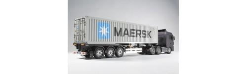 Camion radiocomandati in kit di montaggio