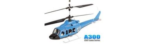 Ricambi E-sky birotori tipo A300 / Hunter / Lama